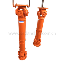 Orange Iron Cardan Vehicle Drive Shafts for Truck